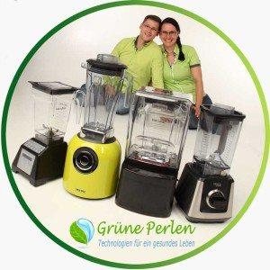 GrünePerlen | Mixer | Entsafter | Premium Küchengeräte