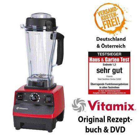 Vitamix TNC 5200 rot