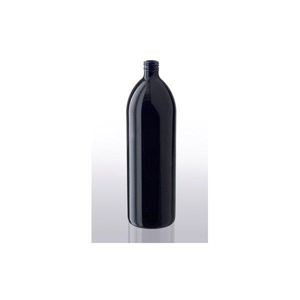 trinkflasche violettglas 1 liter schraubverschluss gr neperlen. Black Bedroom Furniture Sets. Home Design Ideas