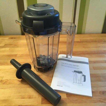 Vitamix-900ml-Nassbehälter-inkl-Stößel