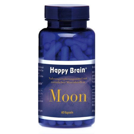 Happy Brain Moon