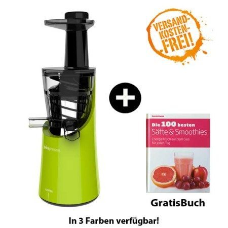Juicepresso Plus grün