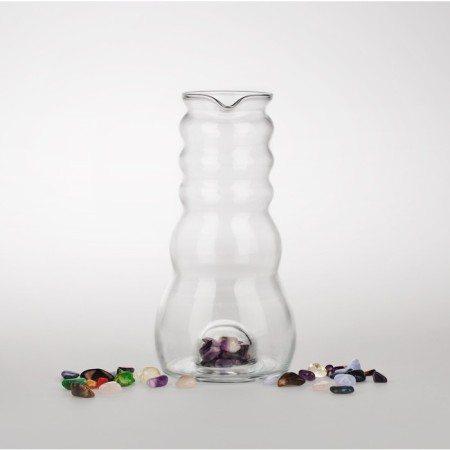 Wasserkrug Cadus mit Edelsteinfach