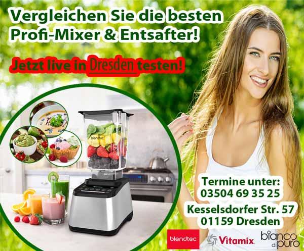 Mixertest in Dresden