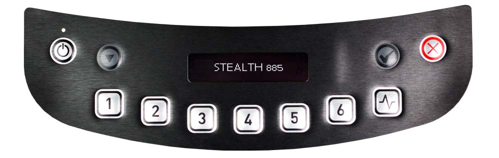 Blendtec-Stealth-885 Commercial Interface
