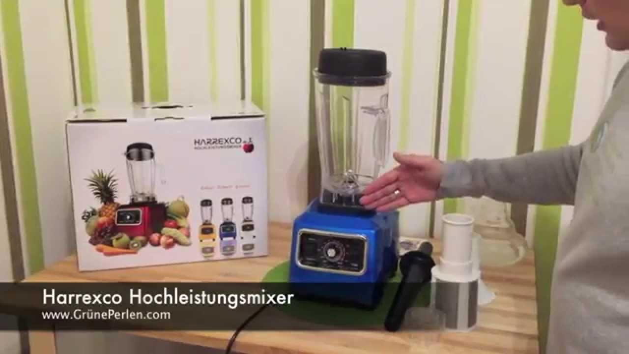 Hochleistungsmixer HARREXCO | GrünePerlen