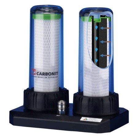Carbonit-Duo-HP Wasserfilter
