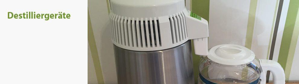 Destilliergeräte für Wasser