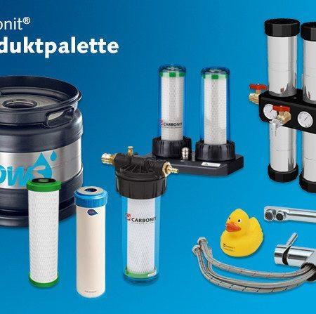 Carbonit Produktpalette
