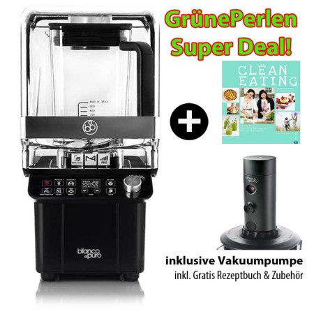 Bianco-Gusto-Superdeal-mit-Soundcover-+-Vakuumpumpe