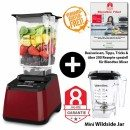 Blendtec-Designer-625+Wildside+Mini-wildside+Blendtec-Fibel-weinrot