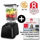 Blendtec Designer 625 mit Wildside + Blendtecfibel schwarz