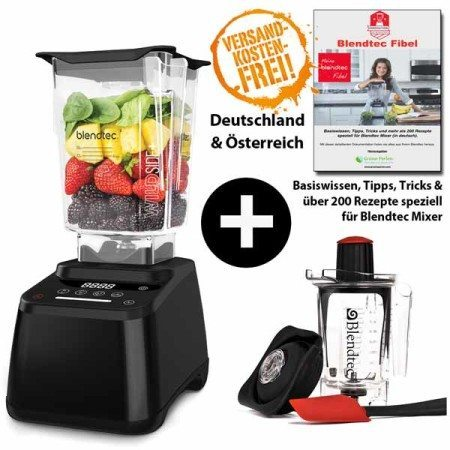 Blendtec-Designer-625-mit-Wildside+Twister+Blendtec-Fibel-schwarz