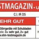 Testsiegel C.I. IR D5 Infrarot Dörrgerät