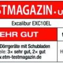 Excalibur EXC10EL Testurteil