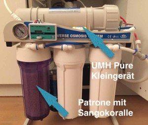 Osmose Komplettsystem GP-500-Sango + UMH Pure