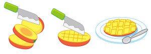 Mango-schneiden