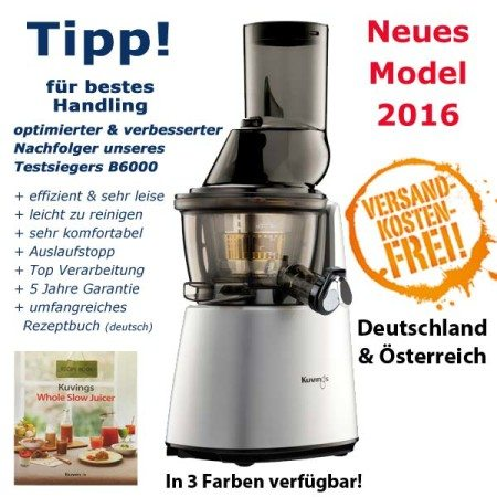 Zebra Whole Slow Juicer Neuheit 2016 : Lurch Saftpresse - Green Power Entsafter (manuell)
