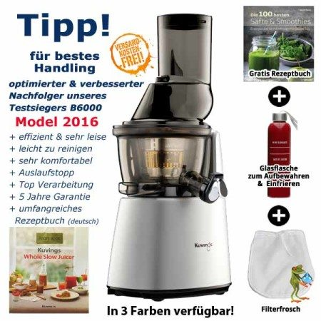 Kuvings-Whole-Slow-Juicer-C9500-silber Model 2016
