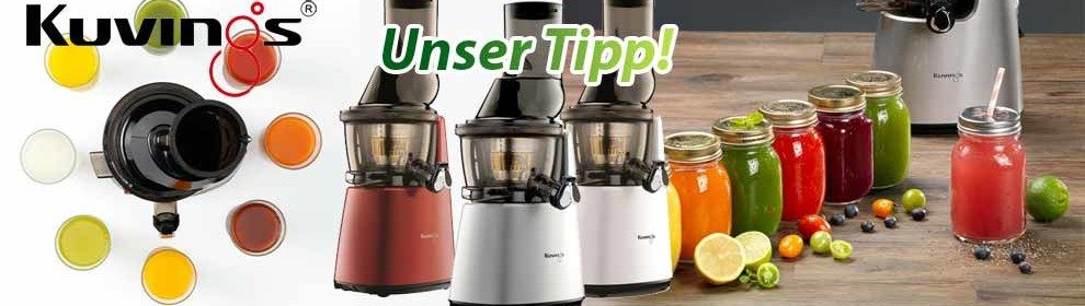 Entsafter Kuvings Whole Slow Juicer B6000 & C9500