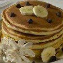 Bananen-Dinkel-Pfannkuchen