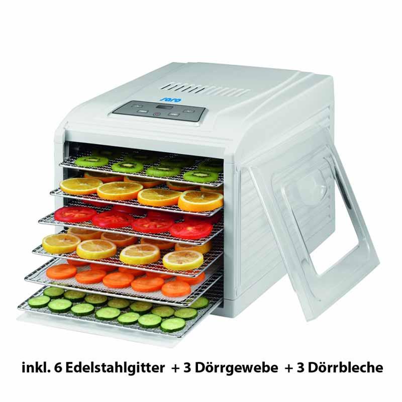 "Rezeptbuch /""Dörren und Trocknen/"" IR D5 inkl Infrarot Rohkost Dörrgerät C.I"