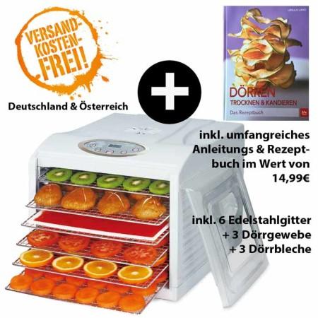Dörrgerät-Veggydry + Anleitungs & Rezeptbuch