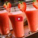erdbeer-Limonen-Slush