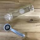 Borosilikatglasflasche-mit-Blume-des-Lebens