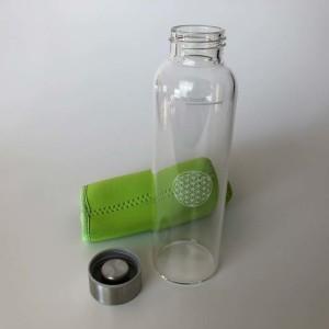 Glasflasche aus Borosilikatglas