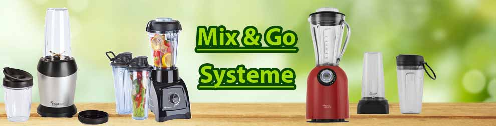 HL Standmixer Mix & Go Systeme