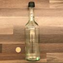 Wasserflasche-500ml-aus-Glas-klar-inkl-Schraubdeckel