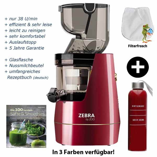 Best Whole Slow Juicer 2016 : Zebra Whole Slow Juicer (1.Generation) GrunePerlen