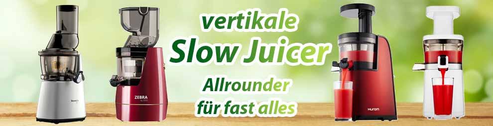 vertikale Entsafter Slow Juicer
