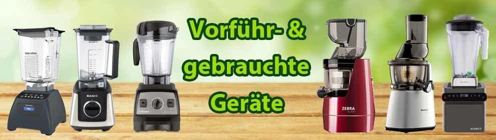 Vorführgeräte & Gebrauchtgeräte