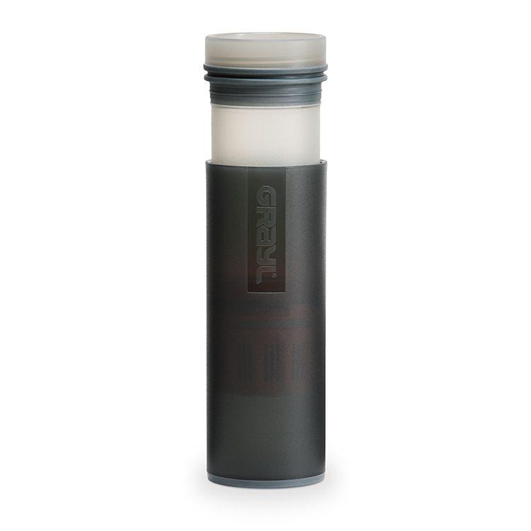 /& Reise Wasserfilter schwarz mit 2 Ersatzfiltern Grayl Ultralight Outdoor