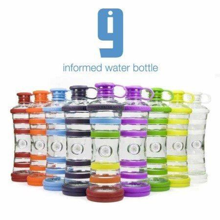 i9-Bottle Chakra informierte Wasserflasche