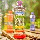 i9 Bottle Chakra- Glasflasche-informiert-und-bruchgesichert