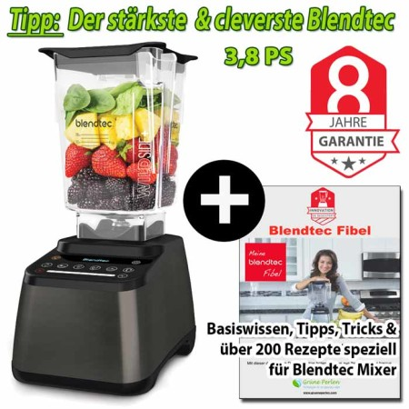 Blendtec-Designer-725+GP-Blendtec-Fibel-gunmetall