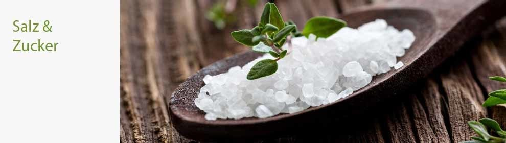 Salz Zucker