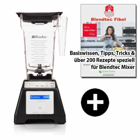 Blendtec-Home-Blender schwarz