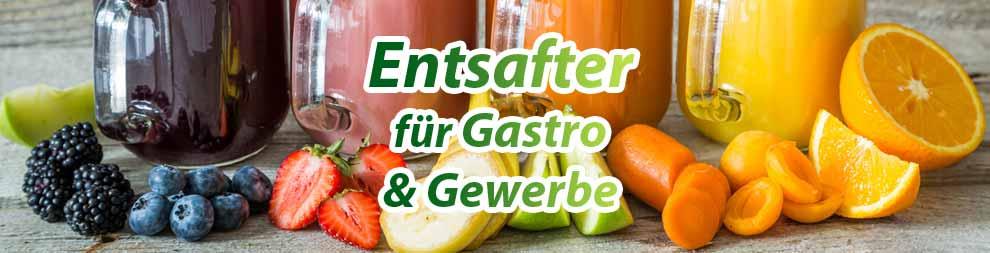 Entsafter & Slow Juicer für Gewerbe & Gastronomie