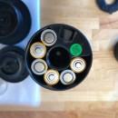 Bianco Vakuumpumpe-Batteriefach