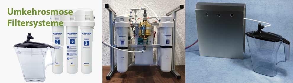 Umkehr-Osmosefilter-Systeme