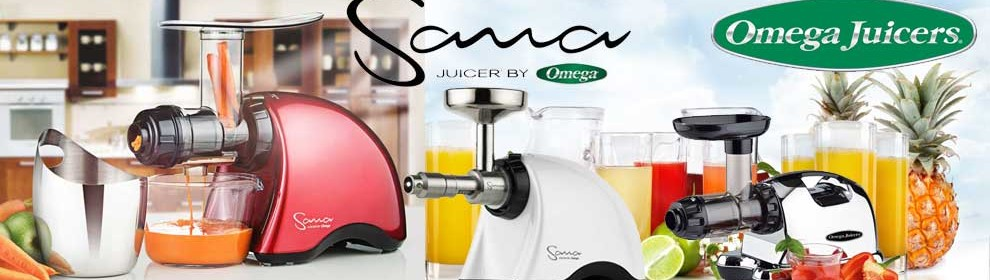 Omega Sana Slowjuicer Prezzo : Omega & Sana by Omega - Slow-Juicer GrunePerlen.com