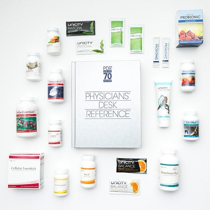 Unicity PDR Produkte