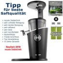 Hurom-H-100-schwarz 3. Generation Slow-Juicer