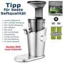 Hurom-H-100-silber - 3. Generation Slow-Juicer