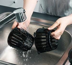 Hurom H-100 Sieb Reinigung