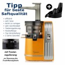 Slow Juicer Sana-828-mit-zitrus-orange